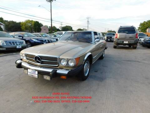1975 Mercedes-Benz 400 SERIES for sale at AMD AUTO in San Antonio TX