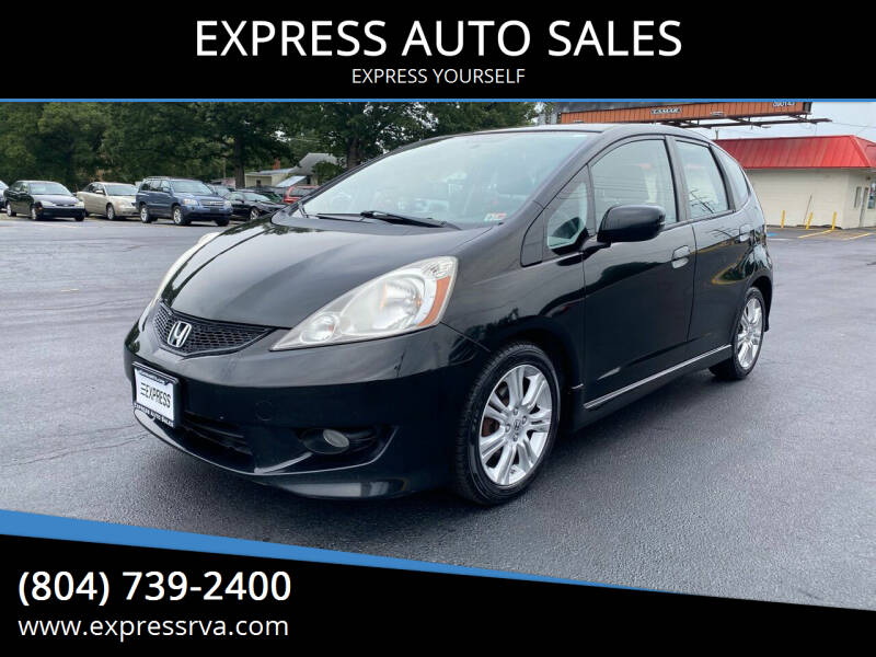 2009 Honda Fit for sale at EXPRESS AUTO SALES in Midlothian VA
