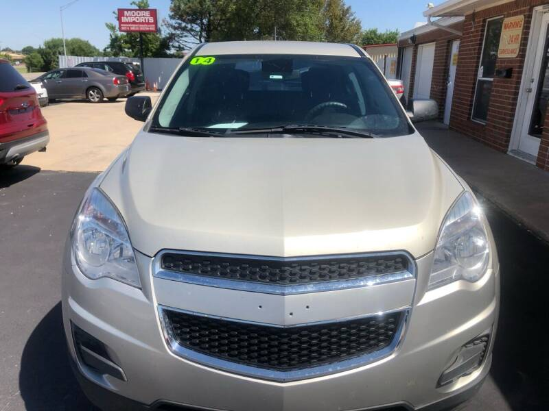 2014 Chevrolet Equinox for sale at Moore Imports Auto in Moore OK