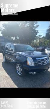 2008 Cadillac Escalade for sale at Supreme Motors in Tavares FL