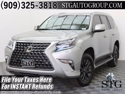 2020 Lexus GX 460 for sale at STG Auto Group in Montclair CA