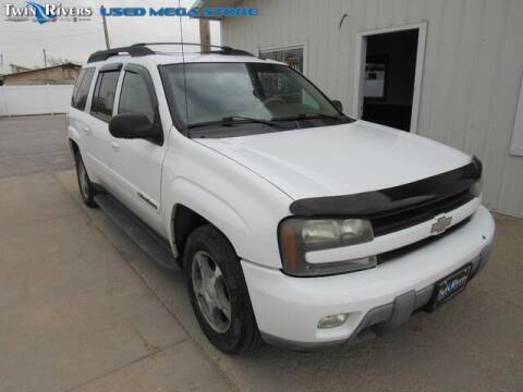 2004 Chevrolet TrailBlazer EXT for sale at TWIN RIVERS CHRYSLER JEEP DODGE RAM in Beatrice NE