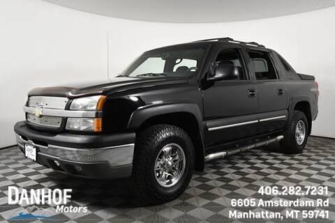 2004 Chevrolet Avalanche for sale at Danhof Motors in Manhattan MT