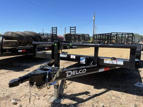 "2021 DELCO   - Car Hauler 83"" X 20'  for sale at LJD Sales in Lampasas TX"