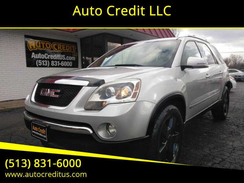 2009 GMC Acadia for sale at Auto Credit LLC in Milford OH