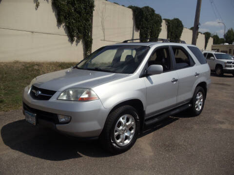 2001 Acura MDX for sale at Metro Motor Sales in Minneapolis MN