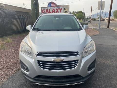 2015 Chevrolet Trax for sale at GALAXY MOTORS in Tucson AZ