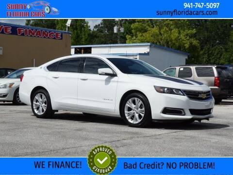 2015 Chevrolet Impala for sale at Sunny Florida Cars in Bradenton FL