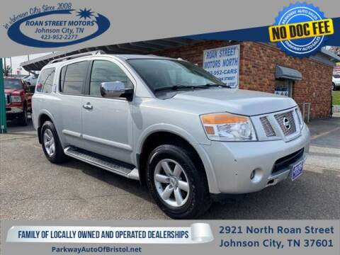 2011 Nissan Armada for sale at PARKWAY AUTO SALES OF BRISTOL - Roan Street Motors in Johnson City TN
