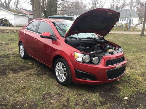 2013 Chevrolet Sonic for sale at Antique Motors in Plymouth IN