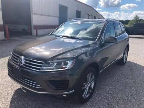2015 Volkswagen Touareg for sale at Auto Sales & Service Wholesale in Indianapolis IN