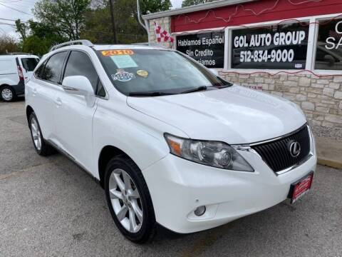 2010 Lexus RX 350 for sale at GOL Auto Group in Austin TX