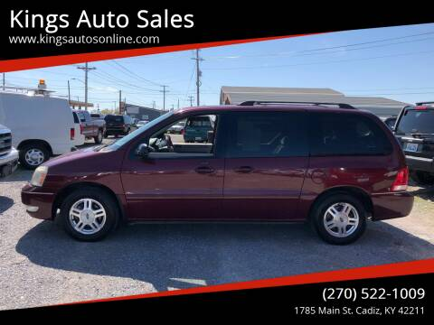 2006 Ford Freestar for sale at Kings Auto Sales in Cadiz KY