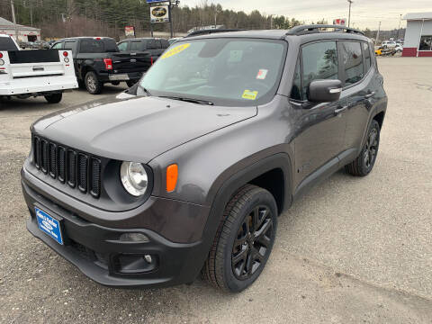 2016 Jeep Renegade for sale at Ripley & Fletcher Pre-Owned Sales & Service in Farmington ME