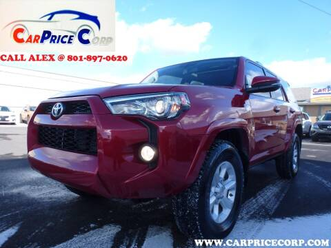 2017 Toyota 4Runner for sale at CarPrice Corp in Murray UT