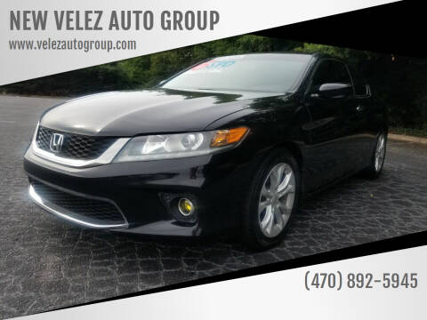 2013 Honda Accord for sale at NEW VELEZ AUTO GROUP in Gainesville GA