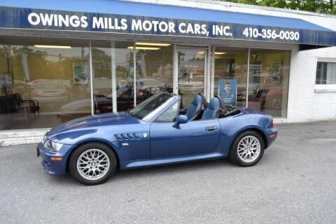 2002 BMW Z3 for sale at Owings Mills Motor Cars in Owings Mills MD