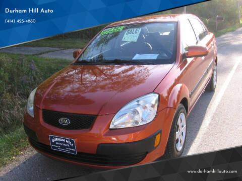 2009 Kia Rio for sale at Durham Hill Auto in Muskego WI