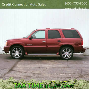 2002 Cadillac Escalade for sale at Credit Connection Auto Sales in Midwest City OK
