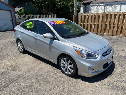2014 Hyundai Accent for sale at PEKIN DOWNTOWN AUTO SALES in Pekin IL