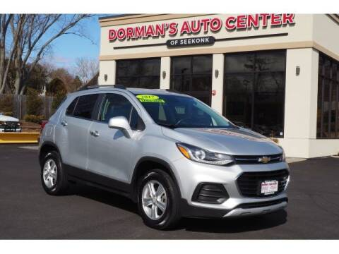 2017 Chevrolet Trax for sale at DORMANS AUTO CENTER OF SEEKONK in Seekonk MA