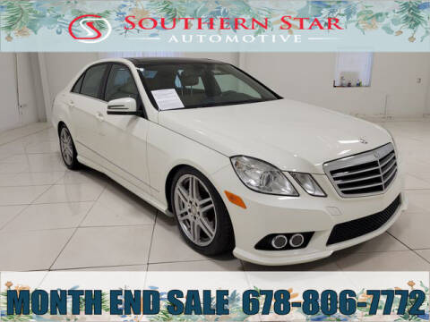 2010 Mercedes-Benz E-Class for sale at Southern Star Automotive, Inc. in Duluth GA