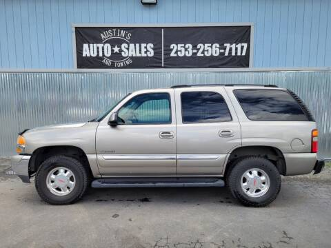 2003 GMC Yukon for sale at Austin's Auto Sales in Edgewood WA