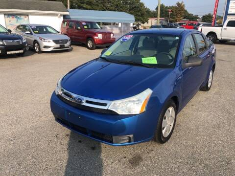 2010 Ford Focus for sale at U FIRST AUTO SALES LLC in East Wareham MA