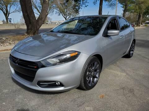 2016 Dodge Dart for sale at Matador Motors in Sacramento CA