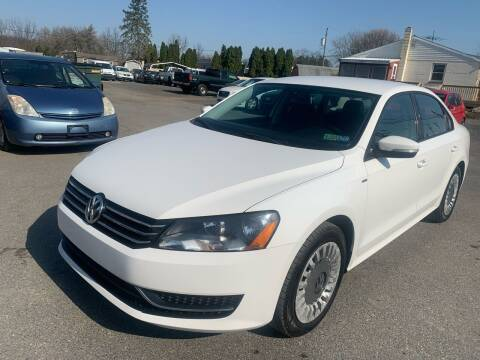 2014 Volkswagen Passat for sale at Sam's Auto in Akron PA