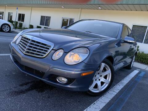 2007 Mercedes-Benz E-Class for sale at Fisher Motor Group LLC in Bradenton FL