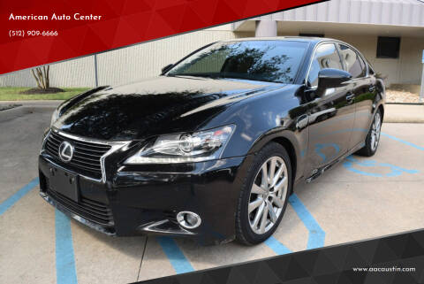 2014 Lexus GS 350 for sale at American Auto Center in Austin TX