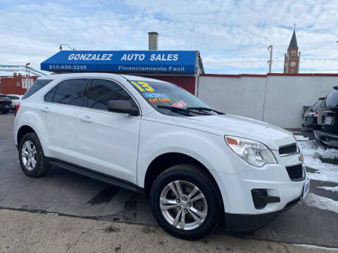 2013 Chevrolet Equinox for sale at Gonzalez Auto Sales in Joliet IL