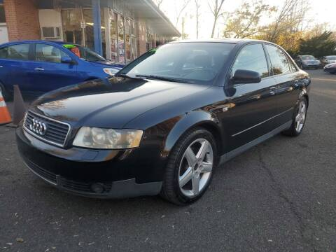2002 Audi A4 for sale at CENTRAL GROUP in Raritan NJ