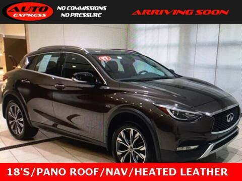 2017 Infiniti QX30 for sale at Auto Express in Lafayette IN