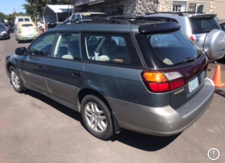 2002 Subaru Outback AWD 4dr Wagon - Portland OR