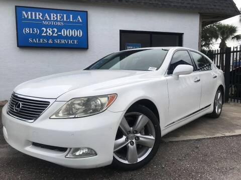 2008 Lexus LS 460 for sale at Mirabella Motors in Tampa FL