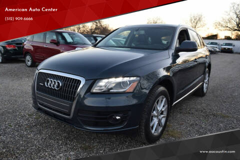 2011 Audi Q5 for sale at American Auto Center in Austin TX