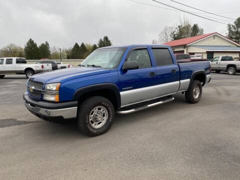 2003 Chevrolet Silverado 1500HD for sale at Alexandria Auto Mart LLC in Alexandria PA