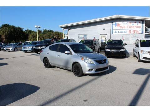 2012 Nissan Versa for sale at My Value Car Sales in Venice FL