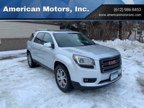 2013 GMC Acadia for sale at American Motors, Inc. in Farmington MN