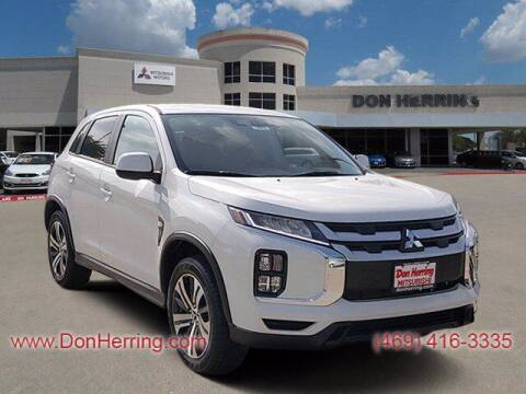 2021 Mitsubishi Outlander Sport for sale at Don Herring Mitsubishi in Plano TX