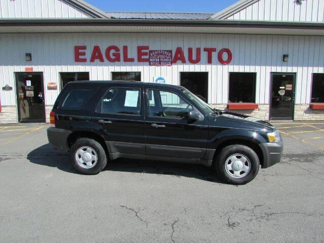 2007 Ford Escape for sale at Eagle Auto Center in Seneca Falls NY