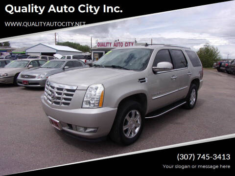 2007 Cadillac Escalade for sale at Quality Auto City Inc. in Laramie WY