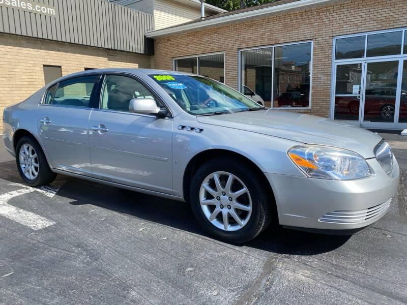 2008 Buick Lucerne for sale at C Pizzano Auto Sales in Wyoming PA