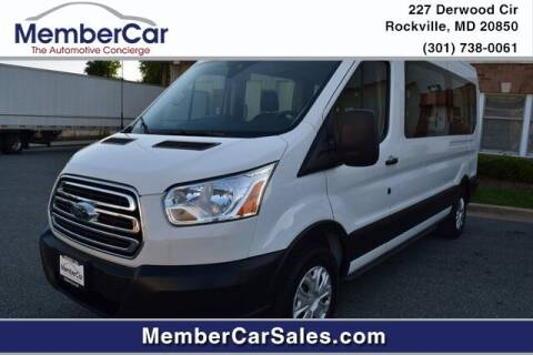 2019 Ford Transit Passenger for sale at MemberCar in Rockville MD