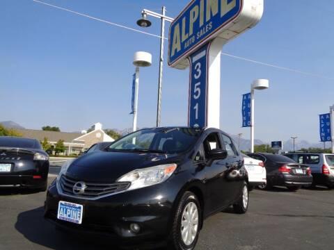 2015 Nissan Versa Note for sale at Alpine Auto Sales in Salt Lake City UT