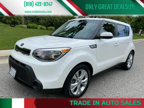 2015 Kia Soul for sale at Trade In Auto Sales in Van Nuys CA