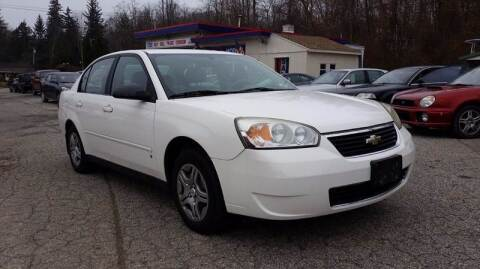 2007 Chevrolet Malibu for sale at Rooney Motors in Pawling NY