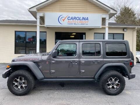2019 Jeep Wrangler Unlimited for sale at Carolina Auto Credit in Youngsville NC
